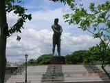 Филиппины, памятник Лапу-Лапу, 'убивцу' Магеллана / Индонезия