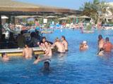 бар в бассейне. отель Sultan Beach