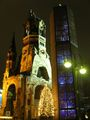 Церковь памяти кайзера Вильгельма и модерновая колокольня перед ней / Фото из Германии