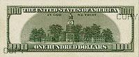 USA$100 реверс