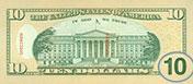 USA$10 реверс, 2006