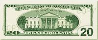 USA$20 реверс