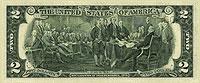 USA$2 реверс