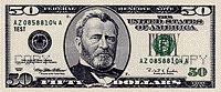 USA$50 аверс, Улисс Грант