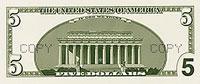 USA$5 реверс