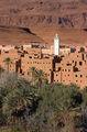 глиняная деревня-касбах / Фото из Марокко