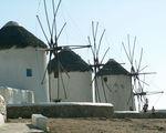 Миконос - мельницы / Греция