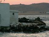 Парос - Науса, ресторан на берегу моря / Греция