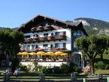 Санкт Вольфганг, один из отелей на берегу / Австрия