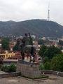 Тбилиси, памятник Давиду Строителю / Фото из Турции