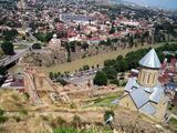 Тбилиси, панорама с крепости Нарикала / Фото из Турции