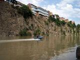 Тбилиси, река Кура / Фото из Турции