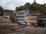 Тбилиси, вид на крепость Нарикалу и бани у ее подножия / Фото из Турции