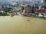 Шанхай, вид с высоты 260 метров / Китай