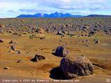 на горизонте - горный массив Kerlingarfjoell / Исландия