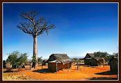 Хижины из черного палиссандра / Фото с Мадагаскара