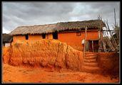 Дом в деревне / Фото с Мадагаскара
