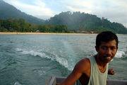 Местный лодочник / Фото из Малайзии