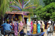 Свадьба в кампунге Текек / Фото из Малайзии