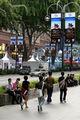 Улица Сингапура почти без людей / Фото из Малайзии