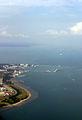 Сингапур сверху / Фото из Малайзии