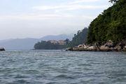 Вид на наш корпус отеля с пляжа / Фото из Малайзии