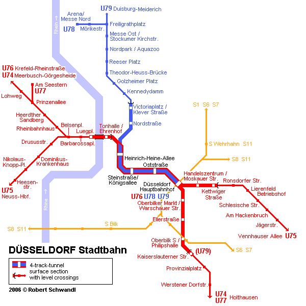 Карта метро Харькова.