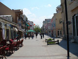 Пешеходная улица в Подгорице / Фото из Черногории