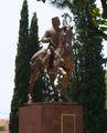Памятник Николаю в Подгорице / Фото из Черногории