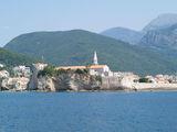 Старый город со стороны пляжа Могрен / Фото из Черногории