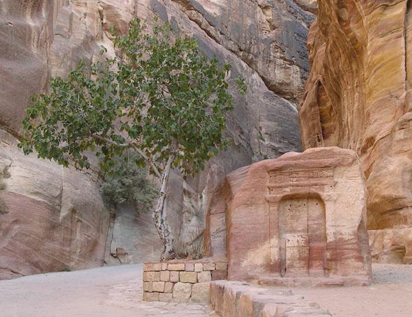 Идол бога Душара и его жены / Фото из Иордании