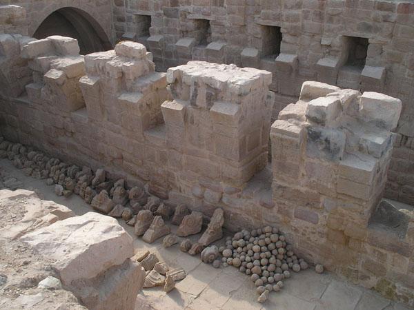 Этот акведук откопали летом 2006 года / Фото из Иоpдании