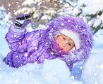 Снег - любимая игрушка