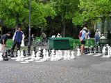 Городская игра в шахматы / Фото из Швейцарии