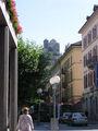 Замок указывает путь / Фото из Швейцарии