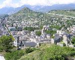 Вид на город с замковой горы / Фото из Швейцарии