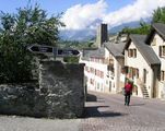 Дорога к замку / Фото из Швейцарии