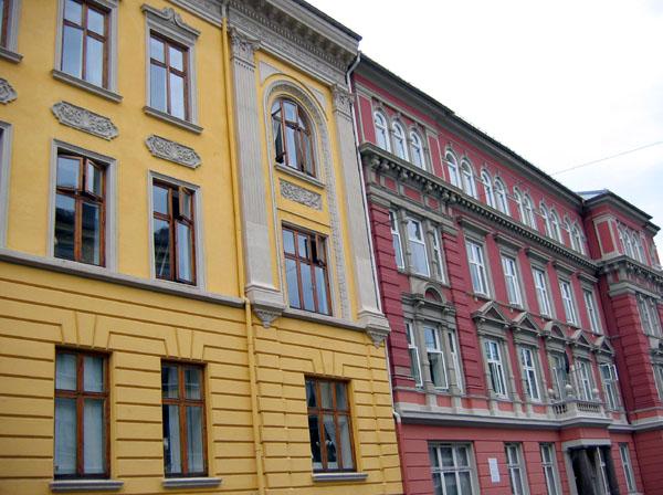 Уютные улицы с цветными домами / Фото из Норвегии
