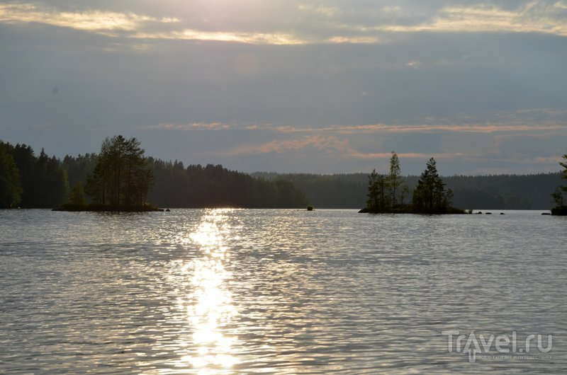 По озерам Реповеси часто устраивают байдарочные походы