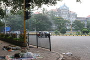 раннее утро в мумбае / Индия