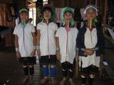 Семейство падаунгов / Мьянма
