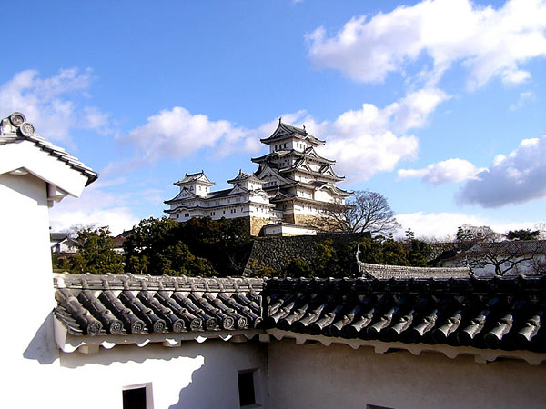 Замок Белая цапля в Himeji / Фото из Японии