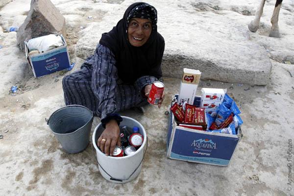 Прохладительные напитки / Фото из Египта