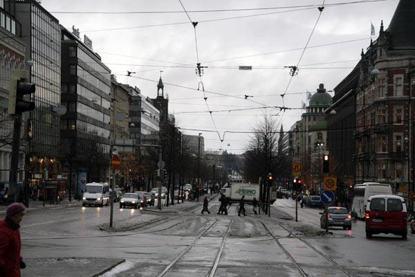 Хельсинки. Зимние улицы / Фото из Финляндии