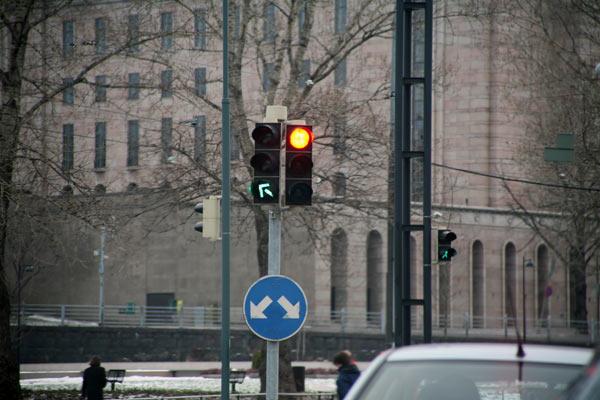Организация городского движения / Фото из Финляндии