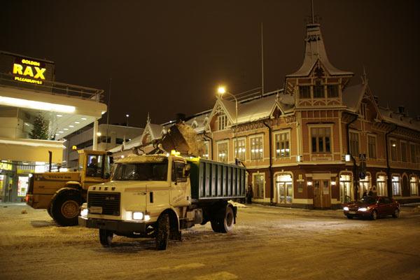 Снегоуборочная техника / Фото из Финляндии
