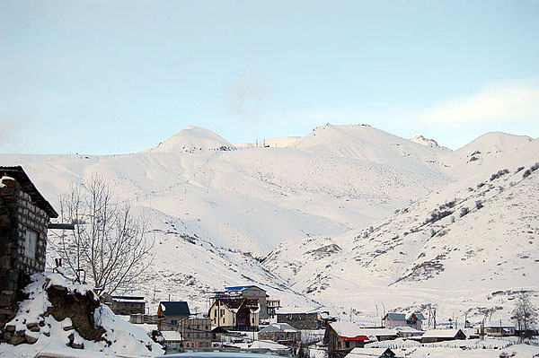 Приехали в Гудаури / Фото из Грузии