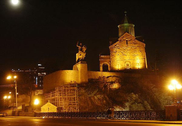 Церковь Метехи / Фото из Грузии