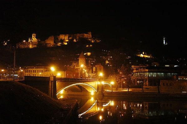 Мост через Куру / Фото из Грузии