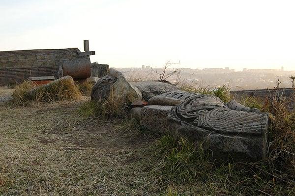 В 19 веке крепость была разрушена / Фото из Грузии